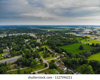Delaware Ohio from above