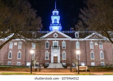 Delaware State Capitol Building in Dover, Delaware