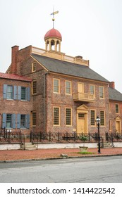 Delaware's first court and state capitol
