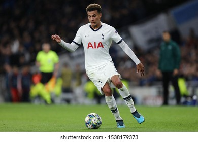 Dele Alli of Tottenham Hotspur - Tottenham Hotspur v Bayern Munich, UEFA Champions League - Group B, Tottenham Hotspur Stadium, London, UK - 1st October 2019