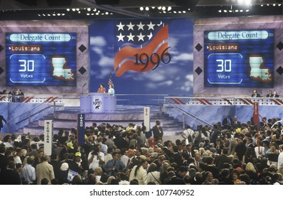 The delegates from the state of Louisiana cast 30 votes for Bob Dole at the 1996 Republican National Convention in San Diego, California