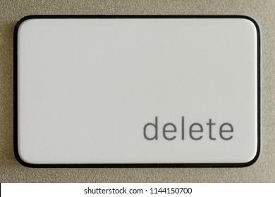 Delete Key Button