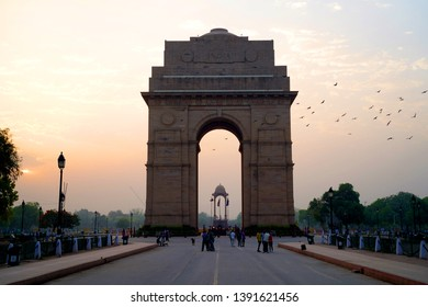 Delhi / India - May 01 2019: Delhi, India's capital territory, is a massive metropolitan area in the country's north. In Old Delhi, a neighborhood dating to the 1600s,