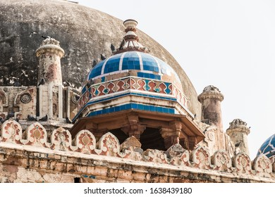 Delhi, India. The Tomb of Isa Khan Niazi, part of the Humayun's Tomb complex. A World Heritage Site