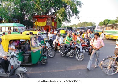 Indian Traffic Jam Images, Stock Photos & Vectors | Shutterstock
