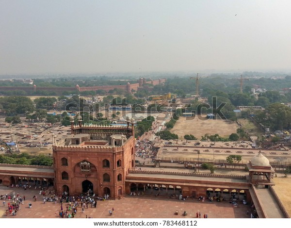 Delhi Skyline India