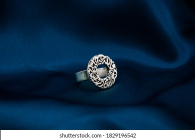 Delicate Traditional Silver Arabic Diamond Jewelry