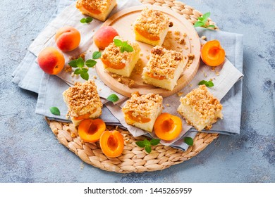 delicious apricot summer cake - sweet food