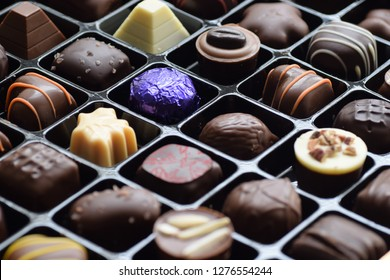 Delicious, Assorted Chocolate in the Box
