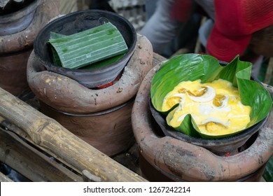delicious bibingka or baked rice cake.  Best time to eat on breakfast and on Christmas season