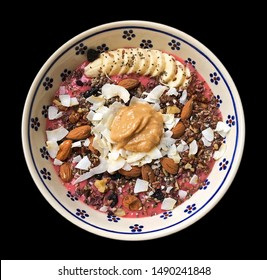 A delicious bowl as a wholesome,