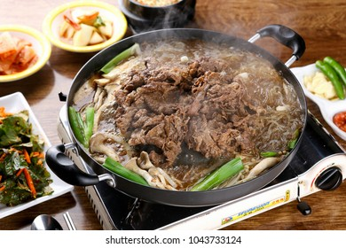 Delicious bulgogi on a Dish