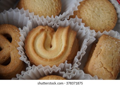Delicious butter biscuits