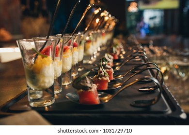 Delicious canapes an event
