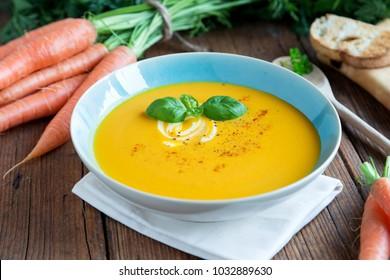 delicious carrot soup