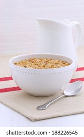 Delicious cereal, served in a beautiful French Bowl, This healthy cereal will be an aid to  health