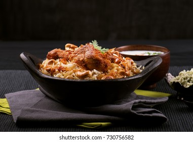 Delicious chicken biriyani