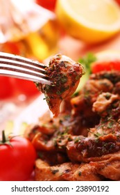 Delicious chicken breast