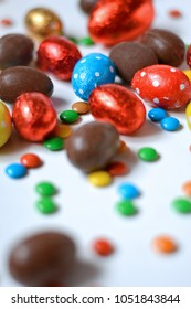 Delicious Chocolate Easter Candy Concept