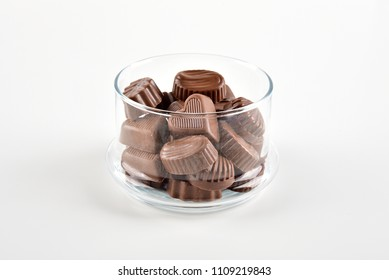 delicious chocolates in the bowl