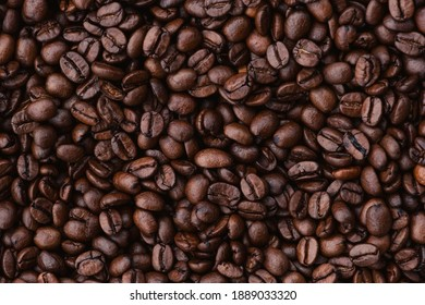 Delicious coffee beans that look great.