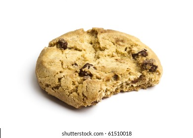 Delicious cookie isolated on white background