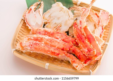 Delicious crab meat when boiled