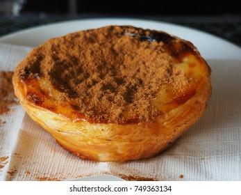 delicious custard tart