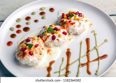 delicious dahi bhalla or dahi vada