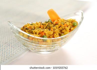 Delicious daliya poha.