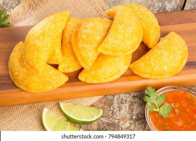 Delicious empanadas - Colombian cuisine