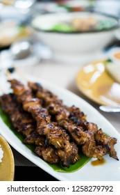 delicious Filipino pork barbecue