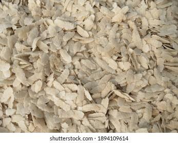 Delicious Flattened rice (CHURA)dry food.