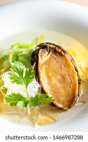 Delicious food made with fresh abalone