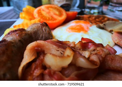 Delicious food in the morning