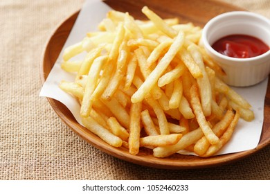 Delicious french fries.