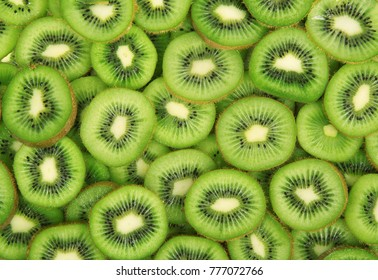 delicious fresh kiwi total background
