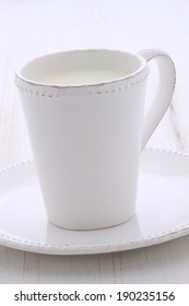 Delicious fresh  milk, on vintage styling.