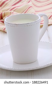 Delicious fresh milk, one of the primary sources of nutrition