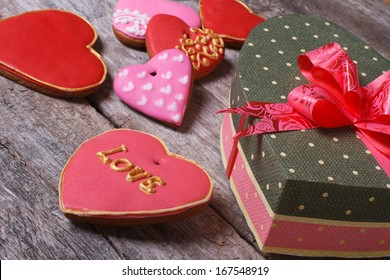 A delicious gift for your sweetheart on Valentine's Day. sweet heart