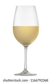 A delicious glass of white wine