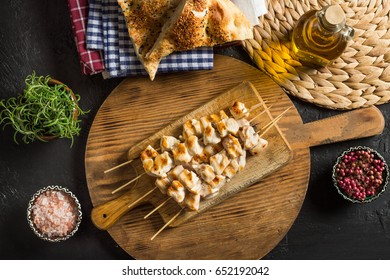 Delicious Grilled Chicken Skewers