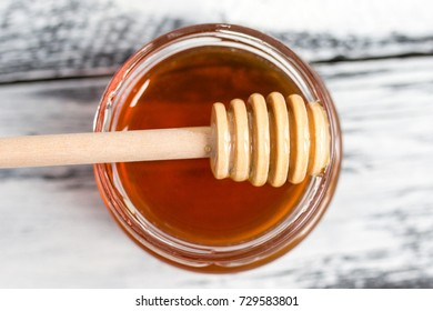 Delicious and healthy flower honey.