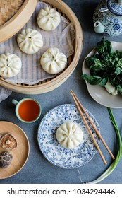 Delicious and healthy homemade meals / Vegetarian Steamed Buns / Make extra, frozen in freezer for later use and steamed with electric steamer or chinese bamboo steamer