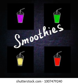 Delicious healthy smoothie fortified