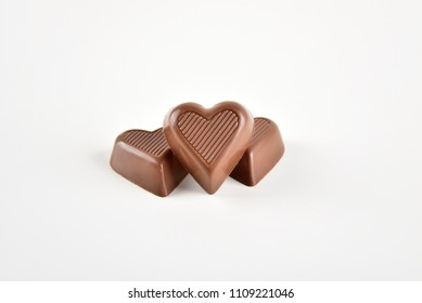 delicious heart chocolate