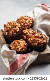 Delicious Homemade Banana Bread Pecan Nut Muffins