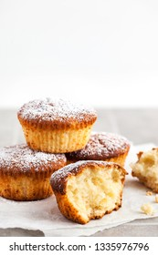 Delicious homemade cottage cheese muffins