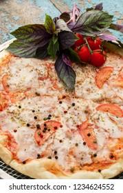Delicious homemade Italian pizza