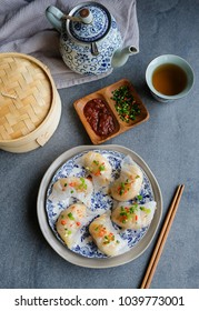 Delicious homemade nyonya dumplings / Nyonya Chai Kueh aka Steamed Vegetable Dumplings / Choice of vegetable from turnip, carrot to chinese mushroom, black fungus and even dried shrimps for flavor